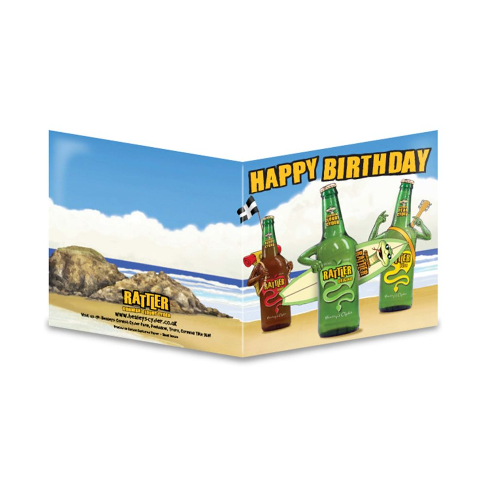 Rattler Birthday Card