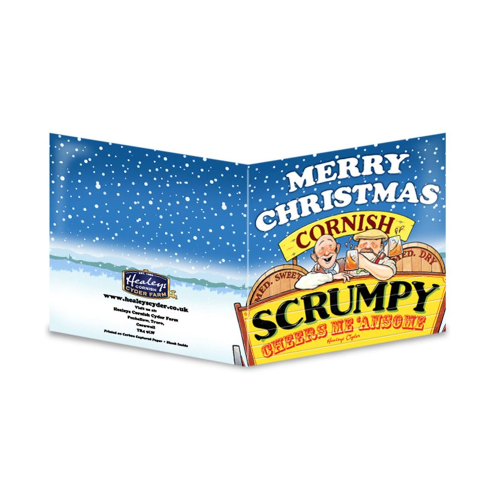 Scrumpy Christmas Card