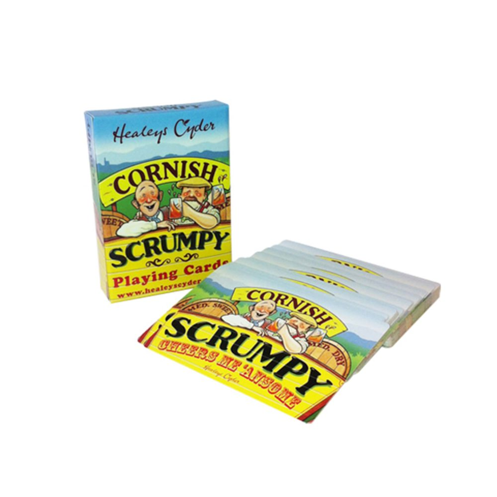 Scrumpy Playing Cards