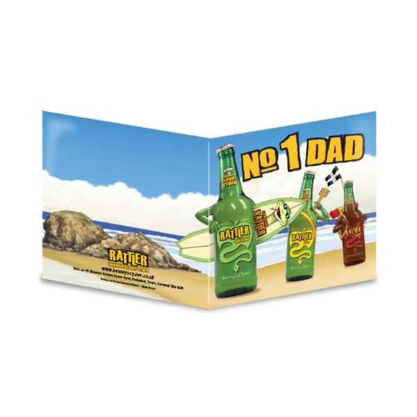 Rattler no1 Dad Card