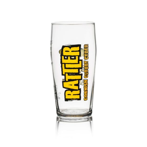 Rattler Pint Glass