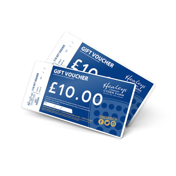 Healeys Gift Vouchers - £10