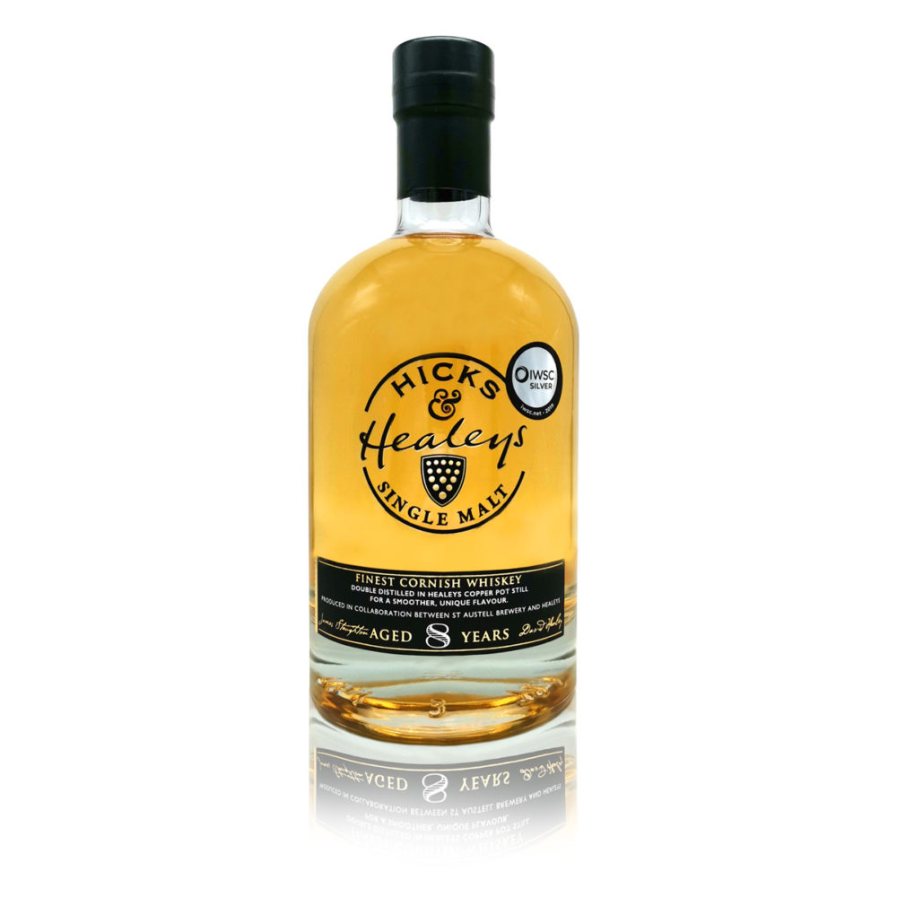 Hicks & Healeys Cornish Single Malt Whiskey Aged 8 Years