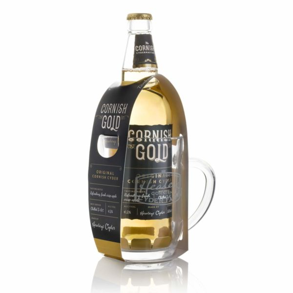 Cornish Gold Tankard Gift Set