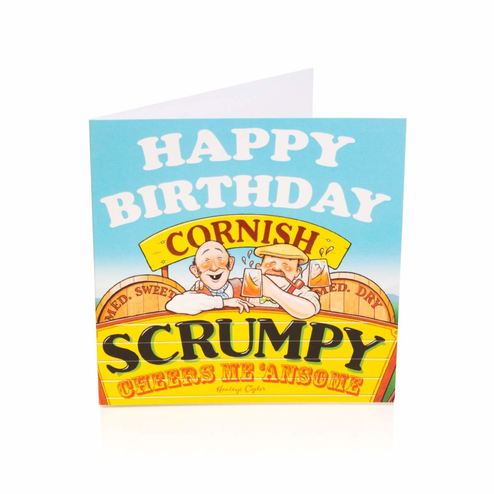 Cornish Scrumpy Birthday Card