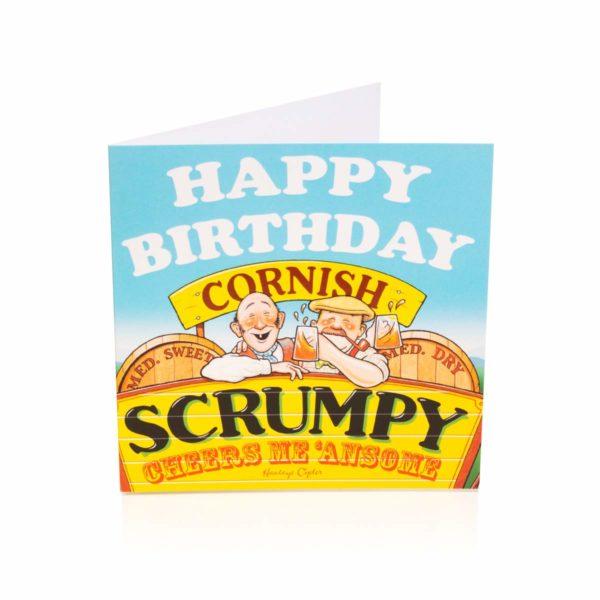 Cornish Scrumpy Birthday Card