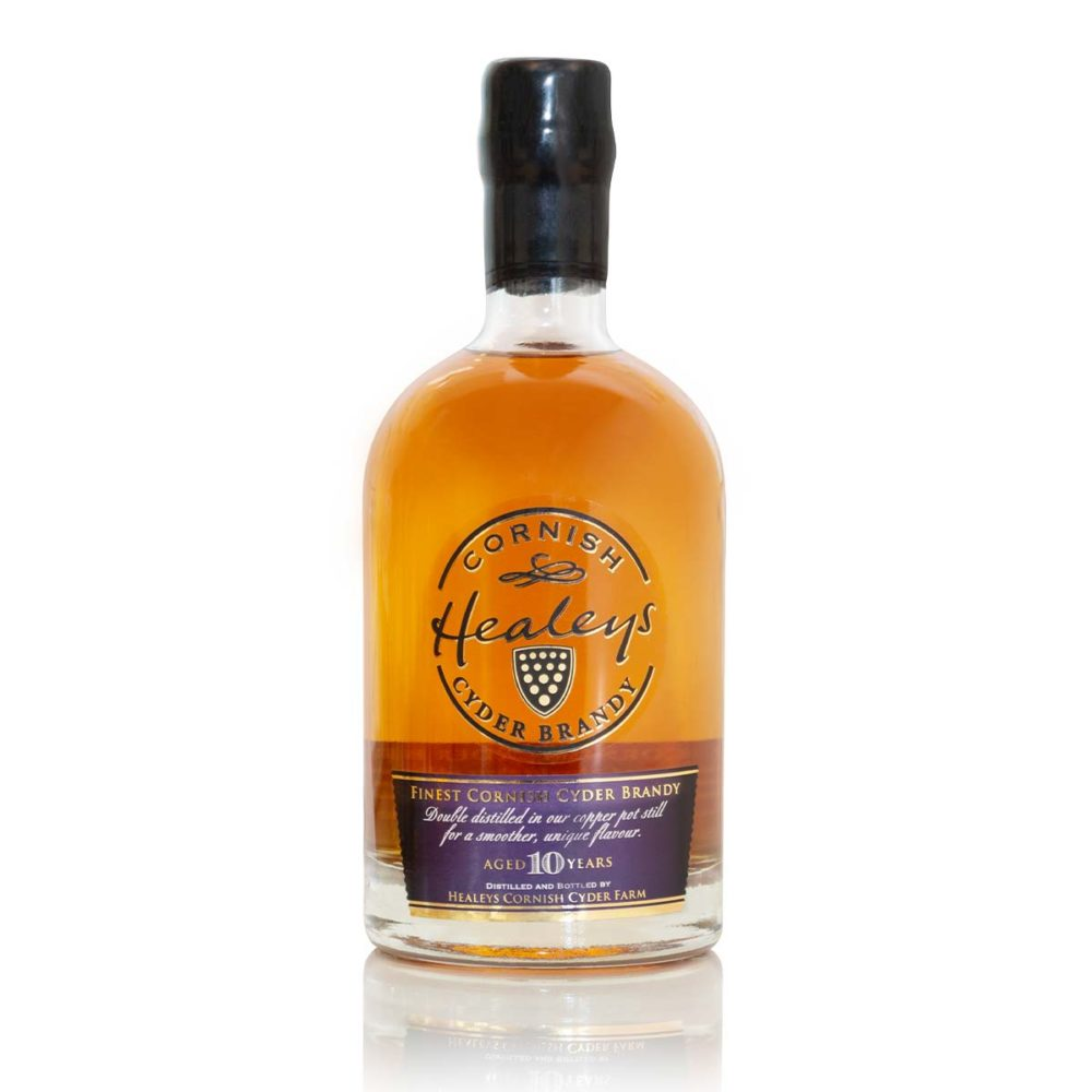 Healeys Cornish Single Estate Cyder Brandy Aged 10 Years