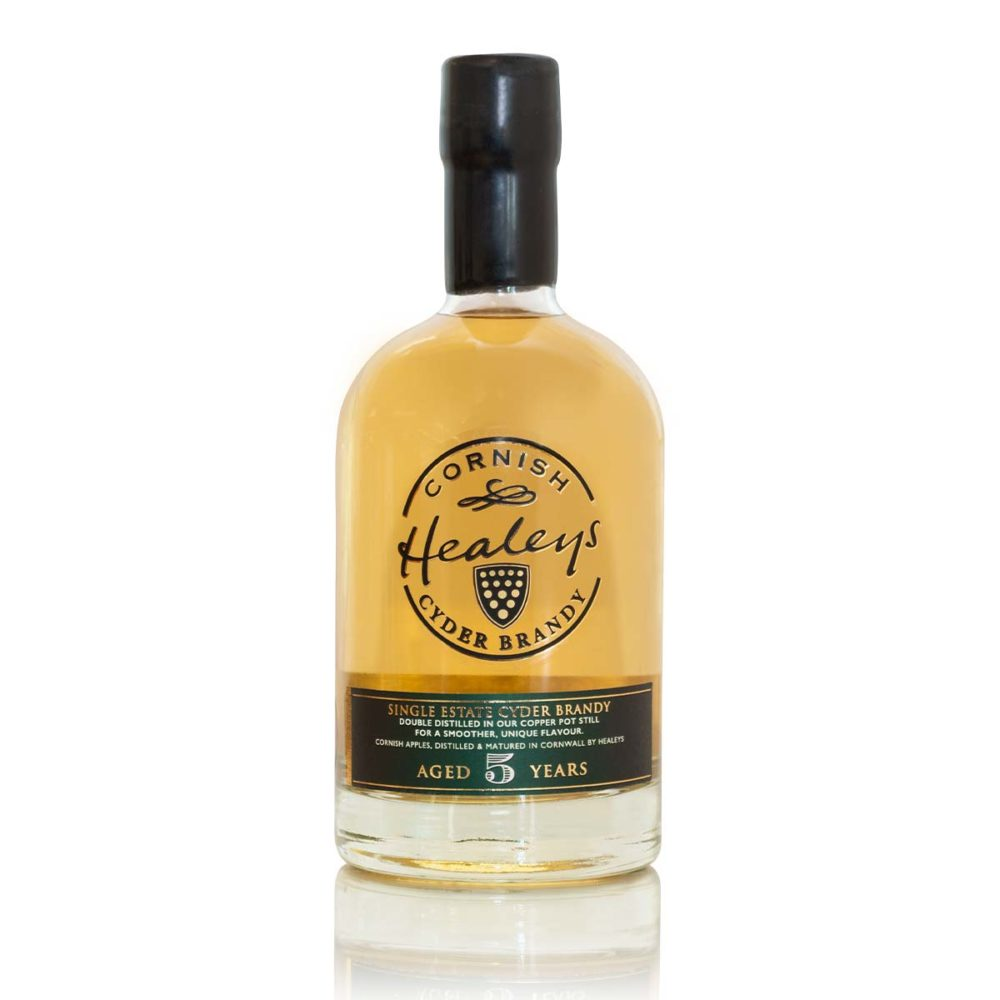 Healeys Cornish Single Estate Cyder Brandy Aged 5 Years
