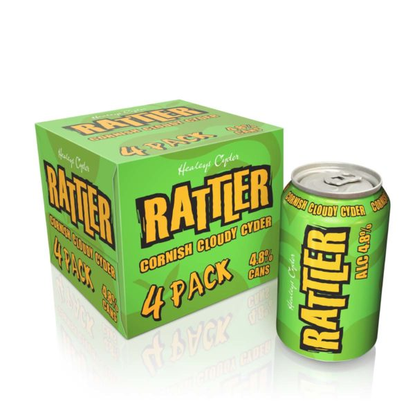 Rattler 4 Pack Cans