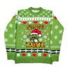 Green Rattler Christmas Jumper