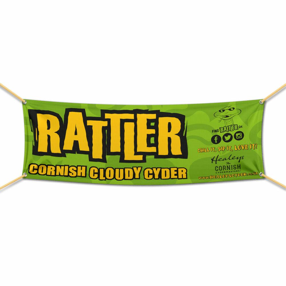 Rattler Mesh Banner