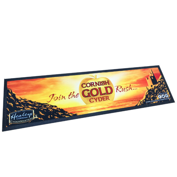 Vintage Cornish Gold Bar Runner