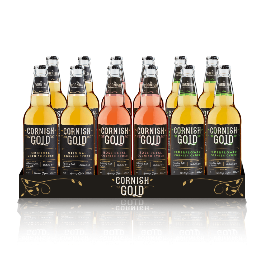 Cornish Gold Mixed Case