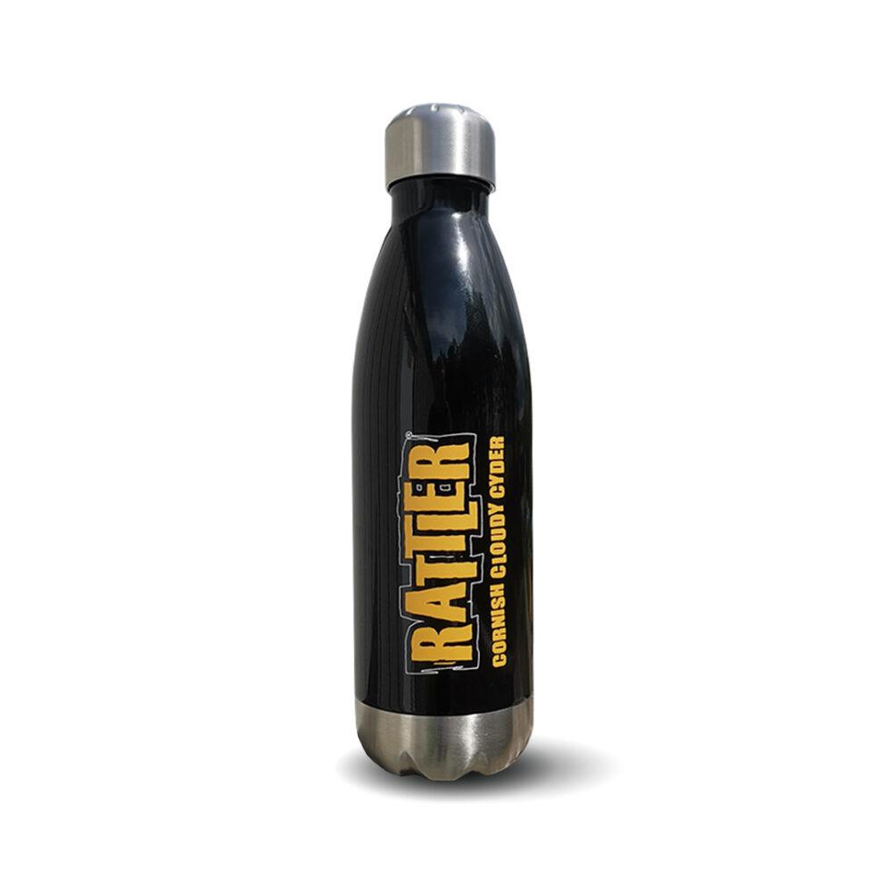 Black Rattler Drinks Bottle