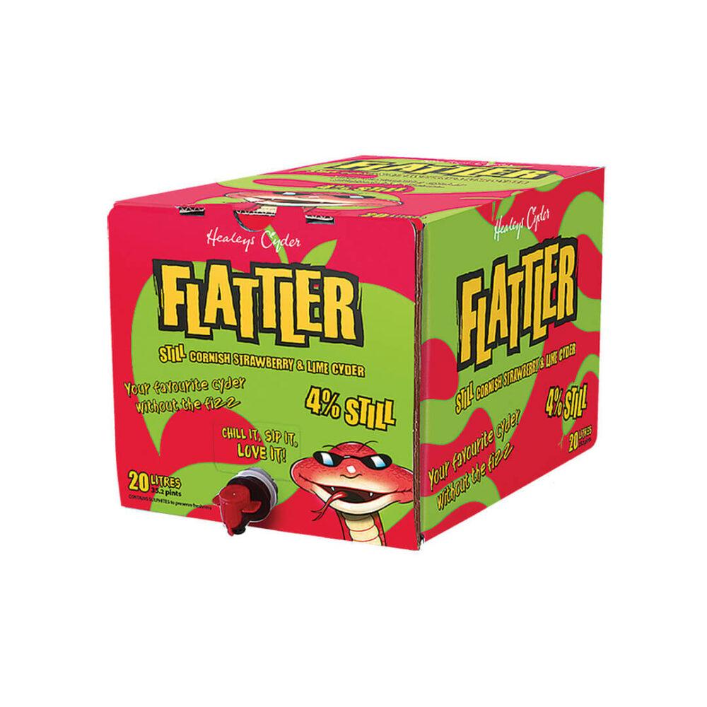 Flattler Strawberry & Lime 4%