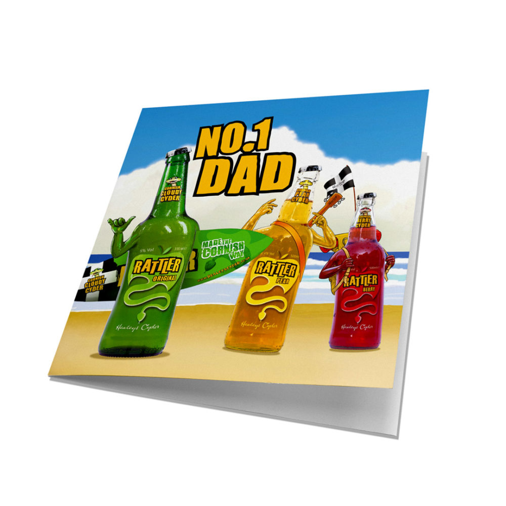 Rattler Dad Card